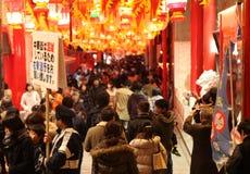 Nagasaki-Laternenfestival Stockbild