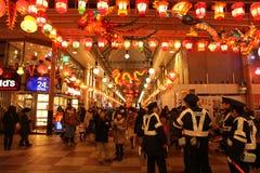 Nagasaki-Laternenfestival Lizenzfreie Stockbilder