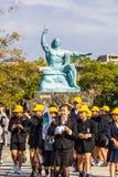 Nagasaki Peace Monument Royalty Free Stock Photography