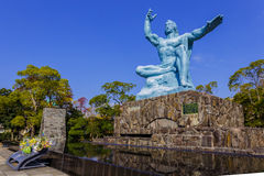 Nagasaki Peace Monument Royalty Free Stock Photo