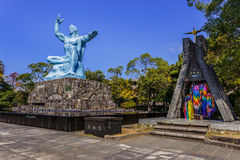 Nagasaki Peace Monument Royalty Free Stock Image