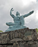 The Nagasaki Peace Statue Stock Photo