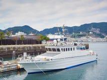 Nagasaki port Royalty Free Stock Photo