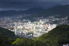 Nagasaki stad, Japan royaltyfri foto