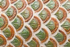 Nagaschaal voor patroon en achtergrond Stock Afbeeldingen