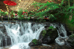 Nagashi giapponese un certo ristorante Fotografia Stock