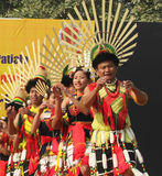Nagastam av Nagaland, Indien Royaltyfri Foto