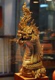 Nagastatue als Anzeige Stockbild