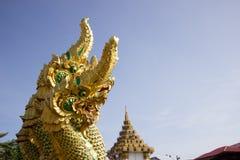 Nagastatue gelegen bei Wat Phra That Choom Chum Sakon Nakhon Stockfoto