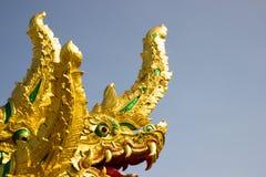 Nagastatue gelegen bei Wat Phra That Choom Chum Sakon Nakhon Stockbild