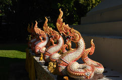 Nagastatue, Thailand Stockfotos