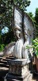 Nagastatue in Thailand Stockbild