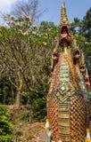 Nagastatue Wat Doi Suthep Chiang Mai Stockfotos