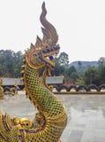 Nagastaty som är arkitekturen av Thailand Royaltyfri Bild