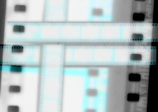 Negative grunge 35mm film. Negative grunge Four frames from a 35mm film strip Royalty Free Stock Images
