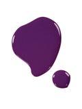 Nagellack, purpurrot Stockbild