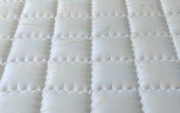 Nagelneue und saubere Matratzenbeschaffenheit Stockbilder