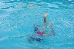 nageur Photos stock