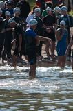 Nageurs de Triathalon Photographie stock