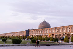 Naghsh-i Jahan Square, Isfahan, Iran. Naghsh-i Jahan is one of UNESCO's World Heritage Sites Royalty Free Stock Image