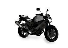 Nagi abstrakcjonistyczny motocykl Obrazy Royalty Free