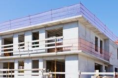 Nagi brickwork dom Obraz Stock