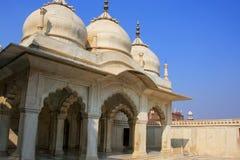 Nagina Masjid klejnotu meczet w Agra forcie, Uttar Pradesh, India Obraz Royalty Free