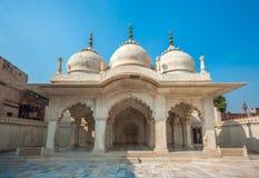 Nagina meczet w Agra forcie, Uttar Pradesh, India Zdjęcie Stock