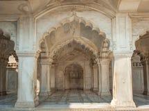 Nagina meczet w Agra forcie, Uttar Pradesh, India Zdjęcie Royalty Free