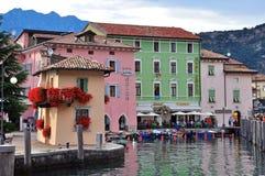 nago, Garda jezioro, Włochy Obrazy Stock