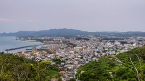 Nago, Okinawa, Japan stock videobeelden
