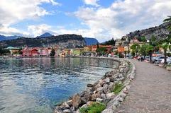 Nago-Torbole, Garda, Italië Stock Foto's