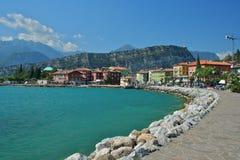 Nago Torbole, lac Garda Image stock