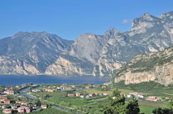 Nago-Torbole,Lake Garda,Italy Royalty Free Stock Photos