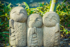 Nagomi Jizo At Hase-dera Temple in kamakura Royalty Free Stock Photography