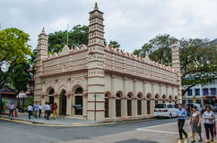Nagore Dargah is the Indian Muslim Heritage Centre in Singapore Stock Image