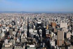 Nagoya aerial, Japan royalty free stock images