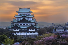 Nagoya Castle in Nagoya, Japan Stock Photography