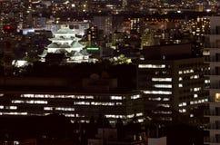 Nagoya Castle at Night. Stock Photos