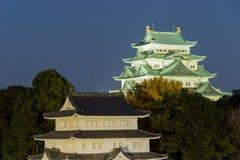 Nagoya Castle at Night - Japan Royalty Free Stock Image