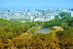 Nagoya Castle Park Stock Photo
