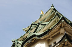 Nagoya Castle roofs Stock Images