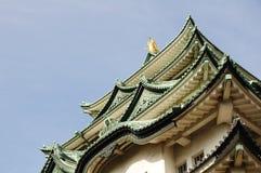 Nagoya Castle roofs Stock Images