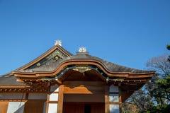 Nagoya Castle`s Hommaru Palace in Nagoya, Japan royalty free stock photography