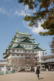 Nagoya Castle was constructed on the orders of Ieyasu TOKUGAWA i Royalty Free Stock Images