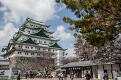 Nagoya Castle was constructed on the orders of Ieyasu TOKUGAWA i Royalty Free Stock Image
