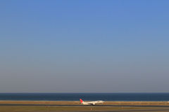 Nagoya,Chubu Centrair International Airport runway Royalty Free Stock Photo