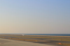 Nagoya,Chubu Centrair International Airport runway Stock Image