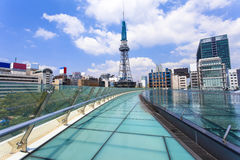 Nagoya city at day in Japan Stock Photography