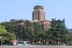Nagoya City Hall Japan Stock Photos